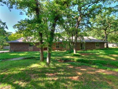 Edmond Single Family Home For Sale: 517 E Oak Cliff Drive