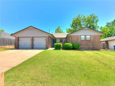 Edmond Single Family Home For Sale: 704 Banner Avenue