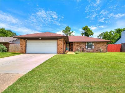 Edmond Single Family Home For Sale: 1419 W Gemini Road