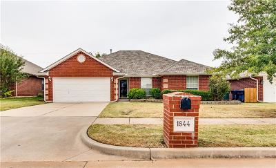 Edmond Single Family Home For Sale: 1844 NW 172nd Street