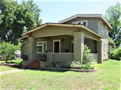 Chickasha Single Family Home For Sale: 1005 S 7th Street