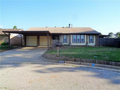 Oklahoma City Single Family Home For Sale: 8440 NW 87th Street