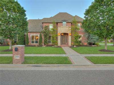 Moore Single Family Home For Sale: 3108 Brush Arbor Drive