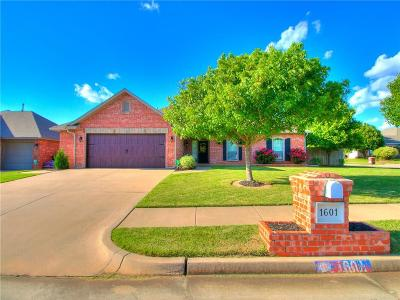 Edmond Single Family Home For Sale: 1601 Oxford Avenue