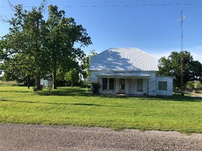Mangum Single Family Home For Sale: 34204 E County 1460 Road
