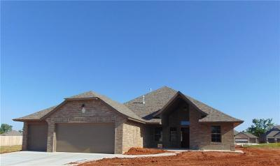 Mustang Single Family Home For Sale: 1816 W Trout Way