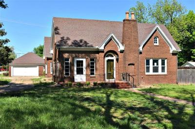 Chickasha Single Family Home For Sale: 928 S 7th Street