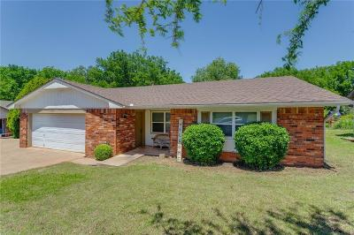 Noble Single Family Home For Sale: 4617 Brookwood Drive