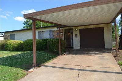 Oklahoma City OK Single Family Home For Sale: $79,900