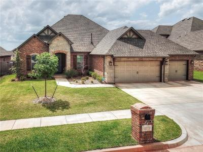Edmond Single Family Home For Sale: 19709 Millstone Crossing Drive