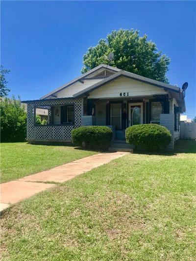 Mangum Single Family Home For Sale: 601 S Pennsylvania Avenue