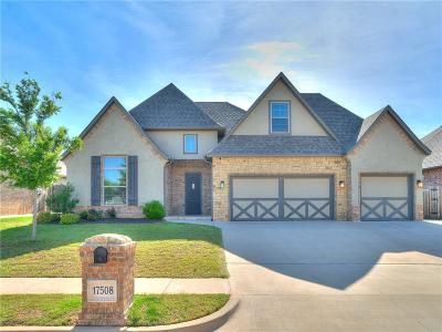 Edmond Single Family Home For Sale: 17508 Melville Lane