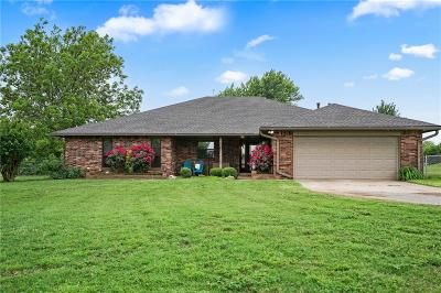 Mustang Single Family Home For Sale: 11901 Riverview Road