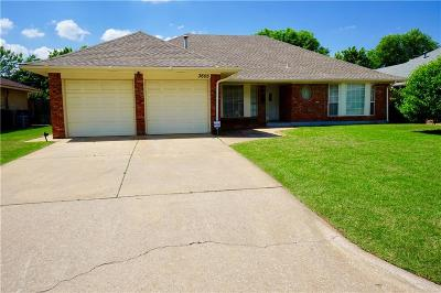Midwest City Single Family Home For Sale: 3605 Rolling Lane