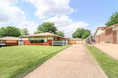 Midwest City Single Family Home Pending: 1121 W Woodcrest Drive