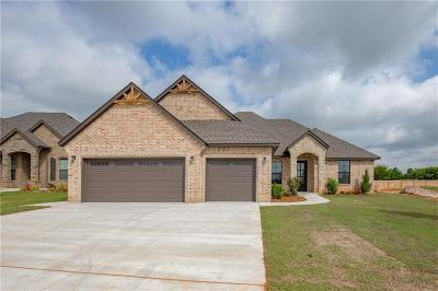 Mustang Single Family Home For Sale: 5517 Ledgestone Drive