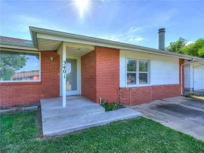 Oklahoma City Single Family Home For Sale: 3401 N Marilyn Drive