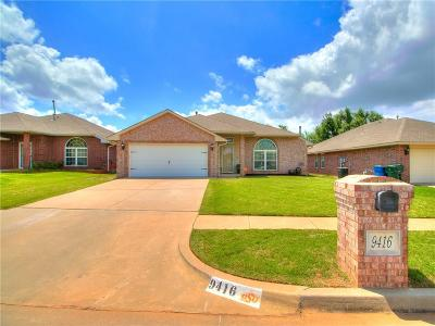 Midwest City Single Family Home For Sale: 9416 Apple Drive