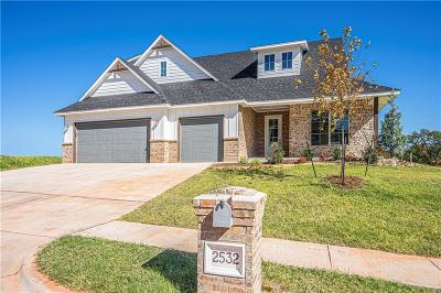 Edmond Single Family Home For Sale: 2532 Bretton Lane
