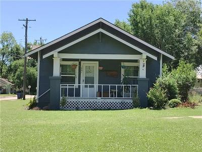 Guthrie Single Family Home For Sale: 1801 W Warner Avenue