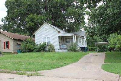 Oklahoma City Single Family Home For Sale: 107 SW 27th Street