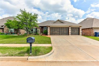 Edmond Single Family Home For Sale: 2401 NW 153rd Street