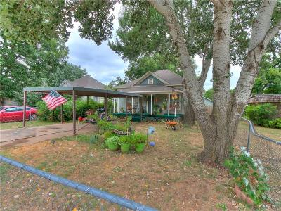 Chickasha Single Family Home For Sale: 1008 S 18th Street