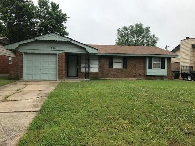 Moore Single Family Home For Sale: 728 N Butler Street
