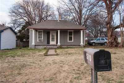 Guthrie Single Family Home For Sale: 510 E Perkins Road
