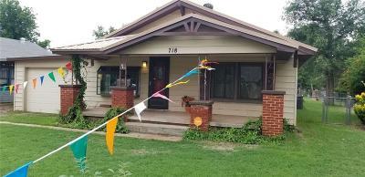 Altus Single Family Home For Sale: 718 E Elm Street