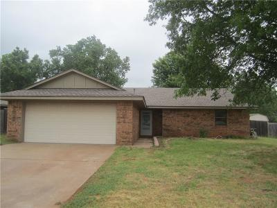 Weatherford Single Family Home For Sale: 1812 Kristie Lane