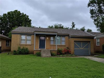 Oklahoma City Single Family Home For Sale: 2800 NW 35th Street