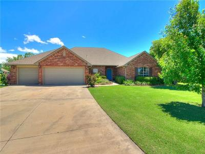 Edmond Single Family Home For Sale: 7958 Lindsay Lane