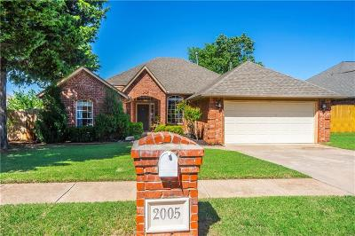 Edmond Single Family Home For Sale: 2005 Willow Bend Drive