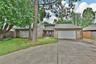 Edmond Single Family Home For Sale: 816 Woodbury Drive