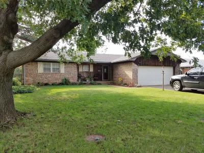 Chickasha Single Family Home For Sale: 1904 S 21st Street