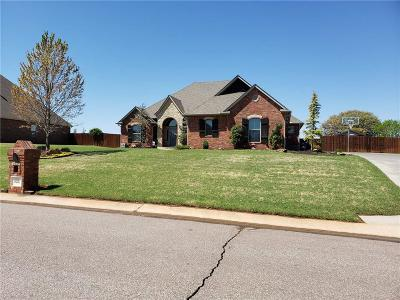 Choctaw Single Family Home For Sale: 825 Silver Tree Drive