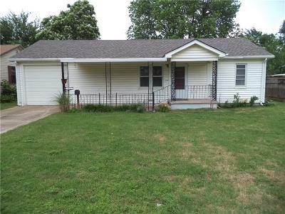 Del City Single Family Home For Sale: 4017 SE 11th Street