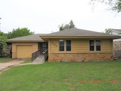 Oklahoma City Single Family Home For Sale: 2005 Carlisle Road