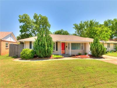 Oklahoma City Single Family Home For Sale: 3004 Shirley Lane