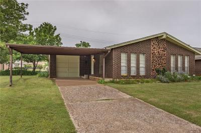 Del City Single Family Home For Sale: 3201 Chetwood Drive