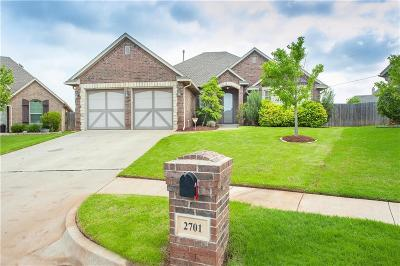 Edmond Single Family Home For Sale: 2701 NW 173rd Street