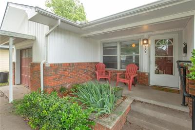 Norman Single Family Home For Sale: 605 Rosedale Drive