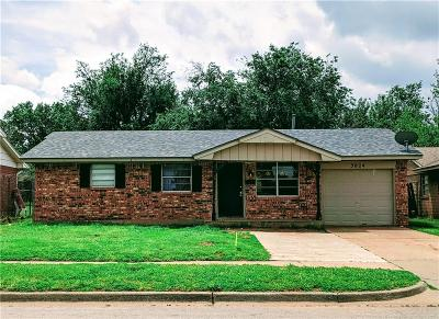 Oklahoma City Single Family Home For Sale: 3024 Parker Drive