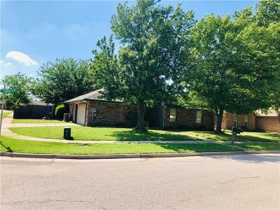 Edmond Single Family Home For Sale: 1217 Bluff Creek Drive