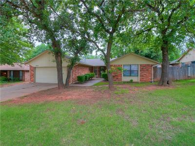 Edmond Single Family Home For Sale: 2421 Northwood Lane