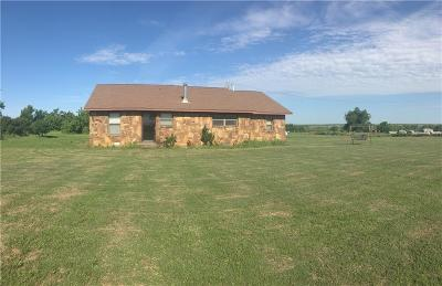 Fort Cobb Single Family Home For Sale: 12192 County Road 1380 Road