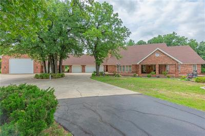 Blanchard OK Single Family Home For Sale: $699,000
