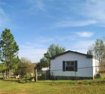 Blanchard OK Single Family Home For Sale: $75,000