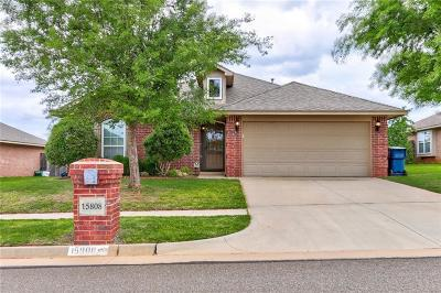 Edmond Single Family Home For Sale: 15808 Sonador Drive